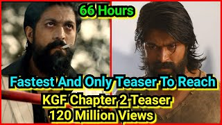 KGF Chapter 2 Teaser Crosses 120 Million Views In 66 Hours, Sailing For 150 Million Views