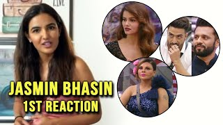 Bigg Boss 14: Jasmin Bhasin First Reaction After Eviction, Kaun Banega Winner | Rubina, Aly, Rakhi