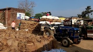 मुंगेली जिले के अधिकांश धान उपार्जन केंद्रों में धान के उठाव नही होने से किसान व केंद्र प्रभारी चिंत