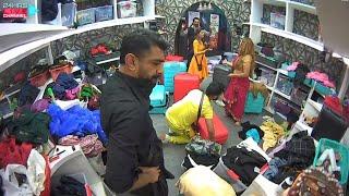 Bigg Boss 14 Live Feed: Rahul Aur Eijaz Ne Feka Rubina-Abhinav Ka Saman, Bhadak Gayi Rubina