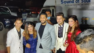 Awez Darbar, Zaid Darbar, Nagma Mirajkar & Anam Darbar Grand Entry At Atrangz Studio Launch