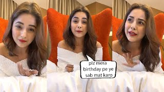 Shehnaaz Gill Very Heart Touching Words To Her Fans About Birthday Celebration