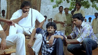 Rudran Malayalam Movie Scenes | Prabhas & Sunil in Jail - Frustrated Prabhas Shouts at Police