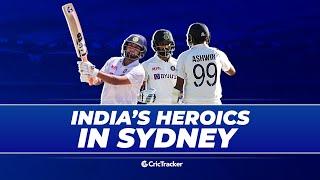 Team India crush Australia's hopes as SCG Test ends in a draw | Australia vs India, 3rd Test