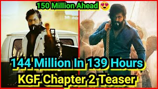 KGF Chapter 2 Teaser Crosses 144 Million In 139 Hours, All Set To Cross 150 Million Soon