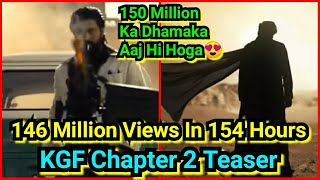KGF Chapter 2 Teaser Crosses 146 Million Views In 154 Hours