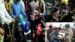 Special Vehicle Checking Drive By | Falaknuma Police | Rein Bazar Police |@Sach News