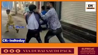 Do Chor Police Ko Chakma De Kar Bhagne Lage Waha Ki Public Uneh Pakad Kar Police K Hawale Kardiya
