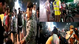 Hyderabad Police | Vehicle Checking | In All Zones | Be Alert | Tolichowki |@Sach News