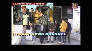 15jan11ग्राम पंचायत लम्बलु के प्रधान पद का उम्मीदवार बांका राम शर्मा ने Hटूडे चैनल से की विशेषबातचीत