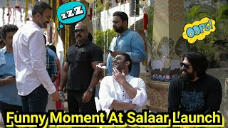 Rocky Aur Salaar Having A Fun Time With Their Director Prashant Neel, Salaar Launch Pictures Update