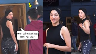 Gauahar Khan Looks Very Tired After Heavy Dance Practise | Meri tabiyat theek nahi hai yaar