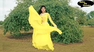 New Dance || नेहा ने किया खेतों  पर जाकर डांस || बुलेट प बैठूंगी ||Virendra mahana Rasiya