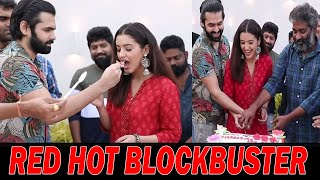 Red Movie Success Meet Celebrations Cake Cutting Video | Ram Pothineni| Malavika Sharma |TopTeluguTV