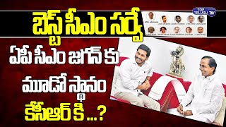 Best Cm In India 2020 | Ys Jagan 3rd Best Cm | Kcr Position In Best CM Survey | Top Telugu