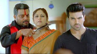 Magadheera Tamil Scenes | Sai Kumar Shocked to See Ram Charan Alive - Best Climax Scene