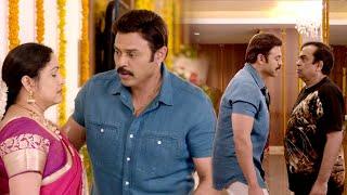 Selvi Tamil Scenes | Venkatesh, Brahmanandam & Posani Hilarious Comedy | Nayanthara