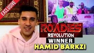 MTV Roadies Revolution 2020 WINNER Hamid Barkzi Exclusive Interview