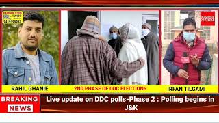 Live Update on DDC Polls-Phase 2 : Polling begins in J&K
