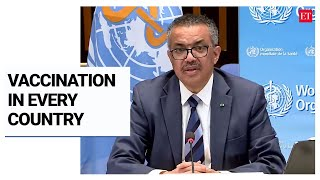 Want to see Covid-19 vaccination underway in every country in next 100 days:  Dr Tedros, WHO