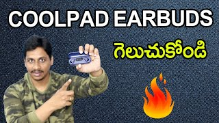 Coolpad Cool Bass Buds True Wireless Earphones unboxing Telugu
