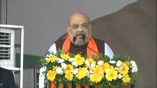 HM Shri Amit Shah inaugurates & lays the foundation stone of farmer-friendly projects in Karnataka.