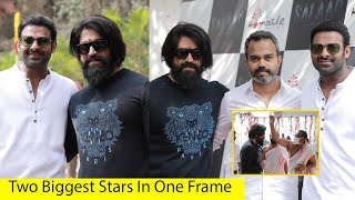 EPIC: KGF Yash & Prabhas In One Frame At New Movie Salaar Launch | Prashanth Neel | Kgf Chapter 2