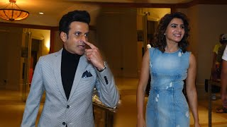 South Beauty Samantha and Manoj Bajpai Very Funny Interaction With media At Family Man 2 Promotions