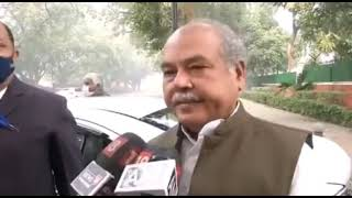 Farmers Protest Live : कोशिश कर रहे हैं कि किसानों के साथ चर्चा से कोई रास्ता निकल आए- कृषि मंत्री