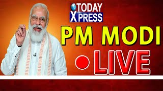 PM Modi Flags off 8 Trains Connecting Statue of Unity|| PM Modi Live|| Today Xpress||