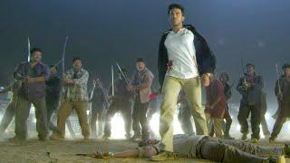 Magadheera Tamil Scenes | Raja Chembolu Backstab Ram Charan - Sai Kumar Finishes Ram Charan