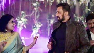 Sudeep and Priya Dance at Ramesh Aravind daughter reception | Yash | Appu | Shivanna