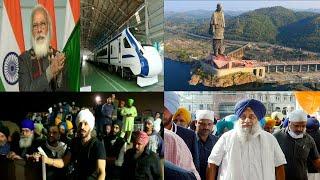PM Modi Flags Off 8 Trains To Statue Of Unity In Gujarat | Sach News Khabarnama | 17-01-2021 |