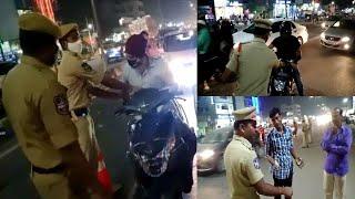 Chandrayangutta Police Ki Special Vehicle Checking | Bandlaguda | Hyderabad |@Sach News