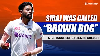 """Australian Fans Called Mohammed Siraj """"Brown Dog,"""" Top 5 Incidents Of Racism In Cricket History"""