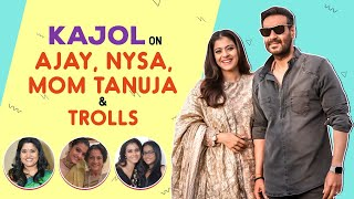 Kajol on her parents separation, Ajay Devgn, trolls attacking Nysa & paparazzi | Renuka Shahane