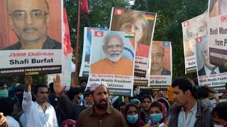 Pakistan: PM Modi, other world leaders' placards raised at pro-freedom rally in Sindh province