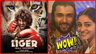 Liger Poster Review Featuring Vijay Deverakonda And Ananya Pandey, Karan Johar Is The Producer