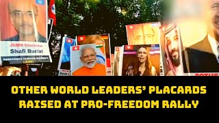 PM Modi, Other World Leaders' Placards Raised At Pro-Freedom Rally In Pakistan's Sindh | Catch News