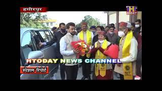 18 JAN 7 हमीरपुर एनआईटी का 11 वां दीक्षांत समारेाह का हुआ आयोजन