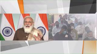 PM Modi performs Bhoomi Poojan of Ahmedabad Metro Project Phase 2 and Surat Metro Project