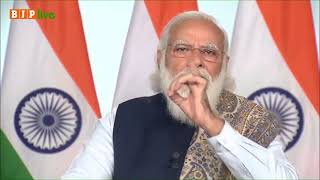 कोरोना योद्धाओं को स्मरण करते हुए भावुक हुए प्रधानमंत्री मोदी! #LargestVaccineDrive