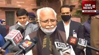 गुरनाम सिंह चढूनी के सरकार गिराने के आरोप के बारे में क्या कहा मुख्यमंत्री मनोहर लाल ने।