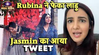 Rubina Ne Feka Laadu, Jasmin Ka Aaya Crypted Tweet, Kya Boli Jasmin? Bigg Boss 14