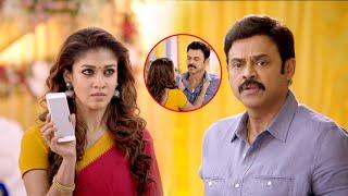 Selvi Tamil Scenes | Venkatesh & Nayanthara Intimate Moment