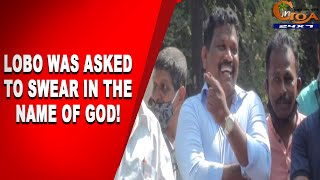 Minister Lobo was asked to swear in the name of god, WATCH his reaction!