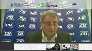 Mr T V Narendran speaking at CII Partnership Summit 2020