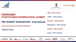 Roadshow for Prarambh: Startup India International Summit 2021 – Israel