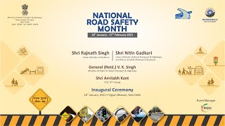 Inauguration of National Road Safety Month
