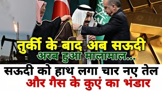 4 New Oil wells discovered in Saudi Arabia, large scale Natural Gas also found..